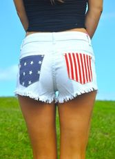 USA Pocket Cutoffs