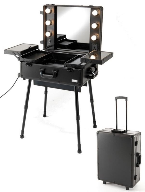 Maletti UKI Cinema Portable Make Up Station -