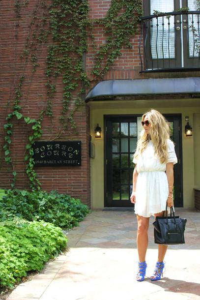 a fashion love affair dress jewels bag shoes