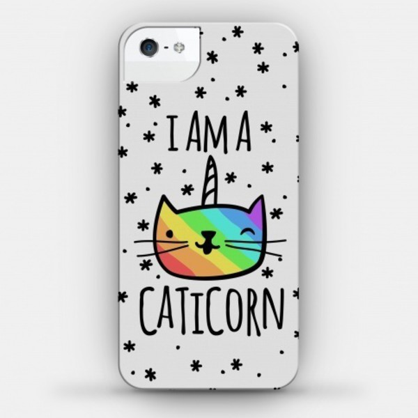 phone cover technology unicorn cats holiday gift cats caticorn cool magical cute