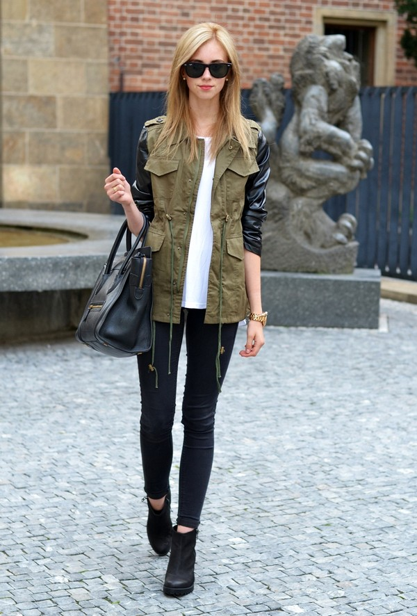 vogue haus t-shirt coat shoes bag sunglasses jewels
