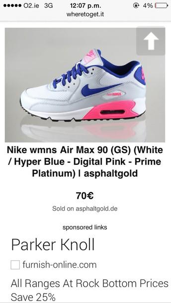 70d4a5933be1 nike air max 90 gs digital pink