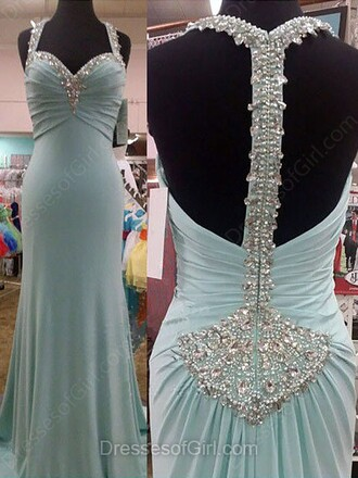 dress prom prom dress satin chiffon crystal long maxi maxi dress long dress blue pastel blue mint green mint bridesmaid dressofgirl fashion trendy cute stylish style love pretty wow amazing sexy sexy dress