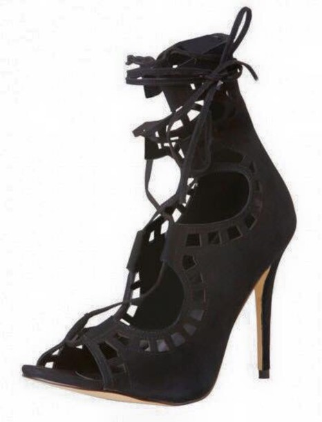 shoes lace up high heels heels fashion windsor smith formal prom