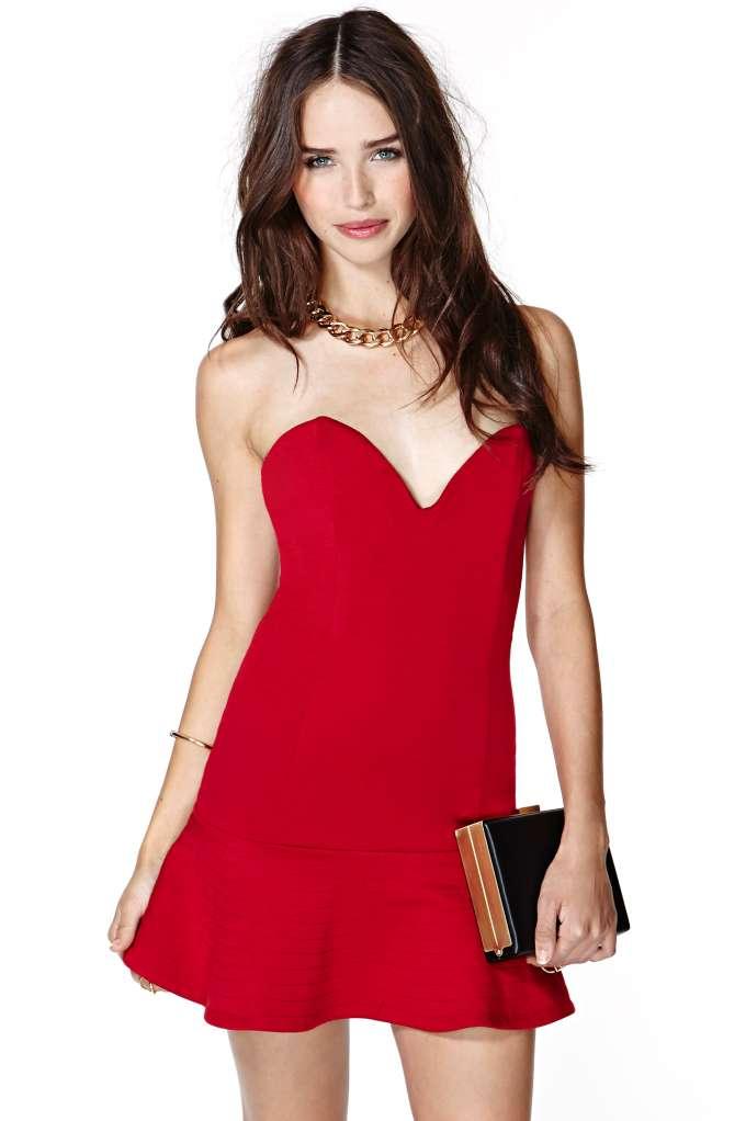 Nasty Gal Haley Dress | Shop Valentine's Day Shop at Nasty Gal