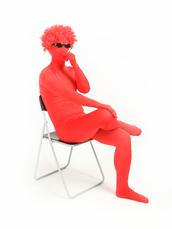 jumpsuit,red zentai suits,zentai