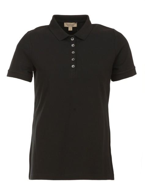 Burberry shirt polo shirt cotton black top