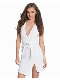 Belted Split Dress, NLY Trend