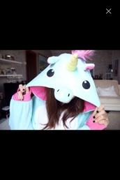 underwear,jumpsuit,unicorn onesie,pajamas,unicorn,onesie,unicorn*love*want,mint,kigurumi,sweater
