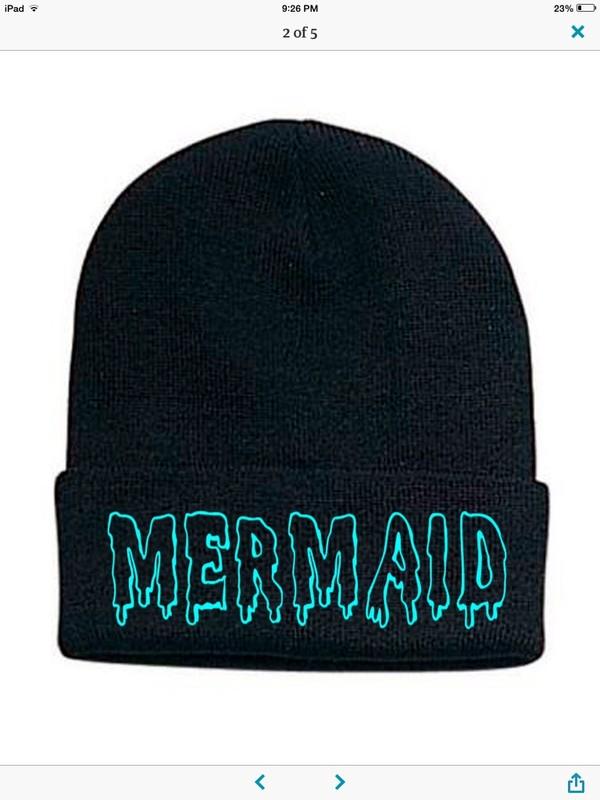 hat mermaid beanie