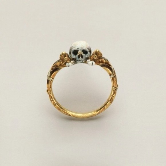 jewels ring gold ring gold gold rings skull skulls rings skull rings skull ring skeleton gold ring