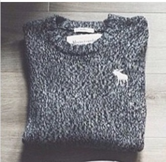 sweater abercrombie & fitch top style warm soft girl