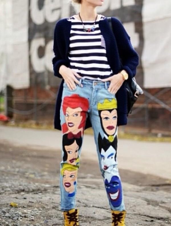 jeans disney fairy tale