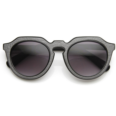Trendy Womens Designer Block Cut Pattern Sunglasses 9156                           | zeroUV