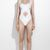 White Bandage Naval Cut Out  Swimsuit from Tumblr Fashion on Storenvy