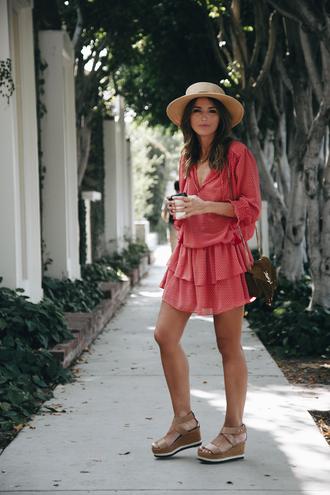 lovely pepa blogger dress shoes bag hat
