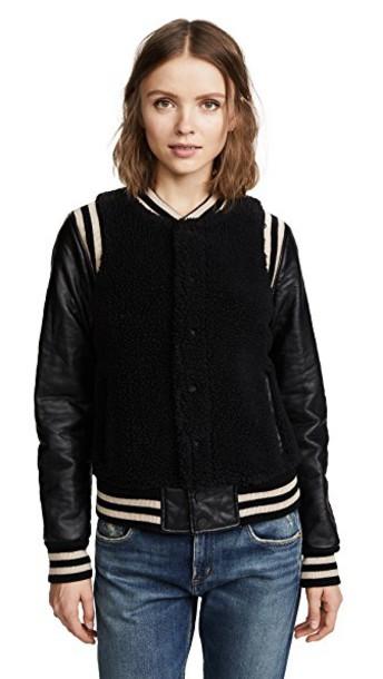 Mother jacket black
