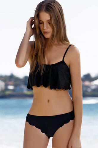 swimwear zaful summer outfits fashion black bikini girly trendy