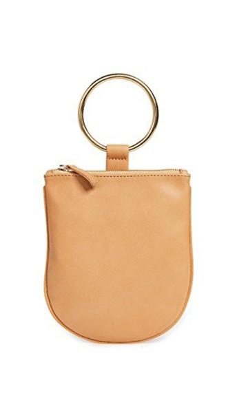 pouch camel bag