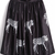 Black High Waist Zebra Print Pleated Skirt - Sheinside.com