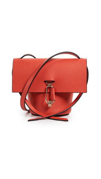 cross mini bag orange