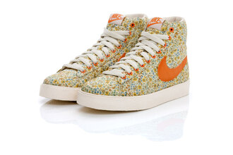 nike nike shoes floral orange shoes shoes