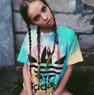 t-shirt colorful shirt inka williams