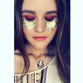 jewels shop dixi necklace moon snow opal boho bohemian grunge goth hippie jewelry