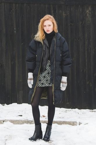 kristina magdalina blogger coat skirt jacket