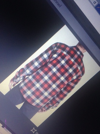 shirt plaid black white button up plaid shirt flannel shirt red t-shirts