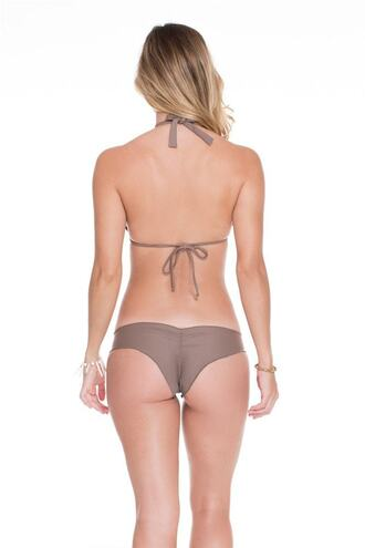 swimwear bikini bottoms brown cheeky luli fama bikiniluxe