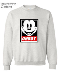 New OHBOY printed Sweatshirt Jumper | eBay