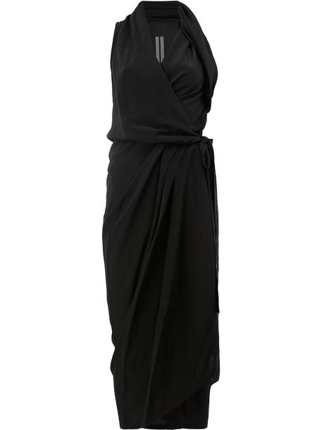 Rick Owens dress evening dress women black silk
