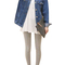 Women's turn-down collar long-sleeved denim jacket online - vessos.com
