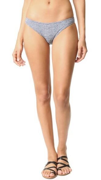 bikini bikini bottoms grey swimwear