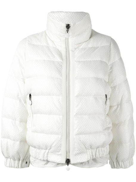 jacket cropped women white