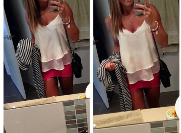 blouse white t-shirt white top top singlet pretty
