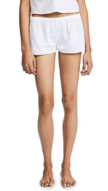 Les Girls, Les Boys shorts cotton white