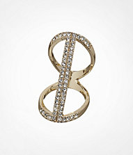FLOATING PAVE BAR RING | Express