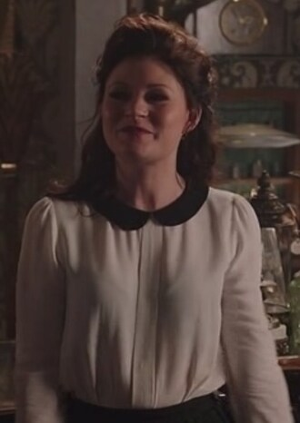 blouse white collar belle once upon a time show
