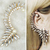 1pc Punk Gothic Celebs Gorgeous Pearl Crystal Ear Cuff Earrings Studs Fashion | eBay