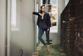 sbstnc,blogger,jeans,shirt,shoes,jacket