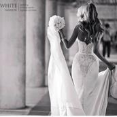 dress,wedding dress,strapless,wedding,lace,wedding dress lace,white,lace dress