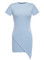 Pastel blue asy dress – outfit made