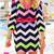 Chevron Dress - Pink | Shop Dandy LLC