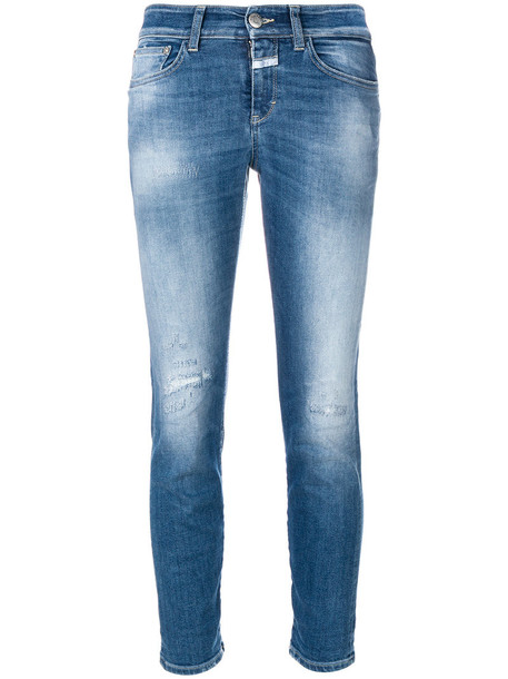 Closed jeans women spandex cotton blue