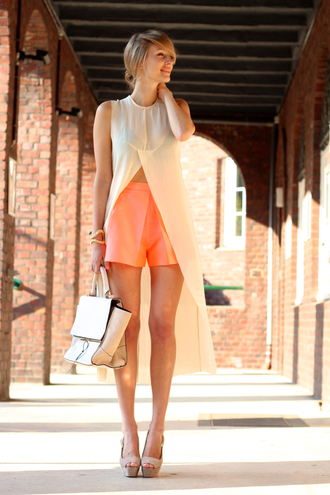ohh couture blouse shorts bag shoes jewels