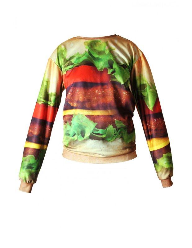 Hamburger Sweater   SPREDFASHION