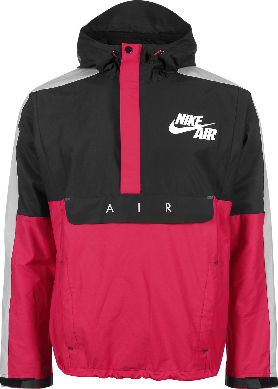 on sale 0dcab 92ea8 Nike BB Heritage Half Zip Hoodie rot schwarz