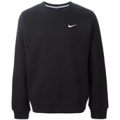 sweater,nike,black,logo,jumper,tumblr sweater,grunge,fall sweater,winter sweater,teenagers,nike sweater,black sweater